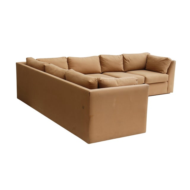 Mid-Century Modern Modern 3-Piece Sectional Sofa For Sale - Image 3 of 10