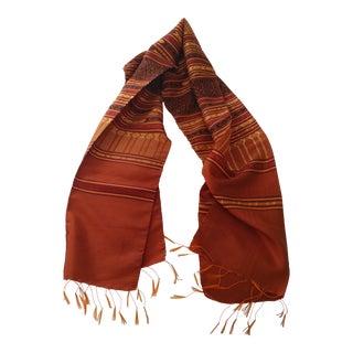 Thai Silk Scarf For Sale