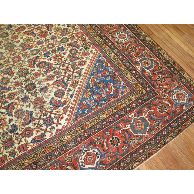Mahal Sultanabad Rug. 10'8'' X 14'2''. For Sale In New York - Image 6 of 9