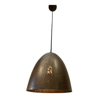 Star Struck Pendant Light in Matt Dark Gray Bronze Metal For Sale