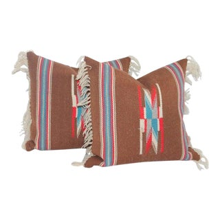 1940s Mexican Pillows- a Pair For Sale