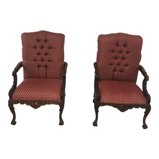 Antique Chippendale Chairs - a Pair For Sale