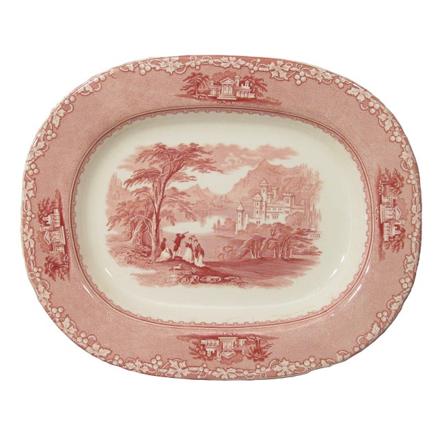 Staffordshire Royal Staffordshire Platter & Tureen S/2 For Sale - Image 4 of 7