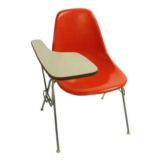 3 Eames Herman Miller Fiberglass School Desk Chairs For Sale