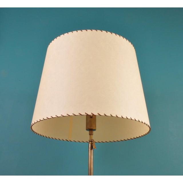 Mid-Century Modern Brass Telescopic Floor Lamp, Bag Turgi, Switzerland 1950s For Sale - Image 3 of 12