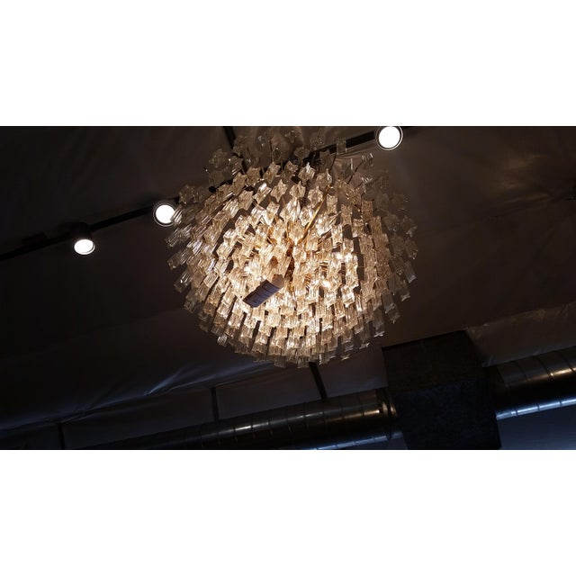 Paolo Venini for Naurelle Vintage Murano Chandelier - Image 5 of 5