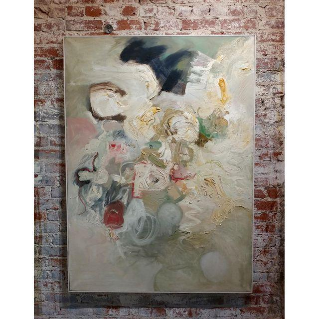 Joan Jacobs - 1959 Abstract Oil Painting For Sale - Image 11 of 11