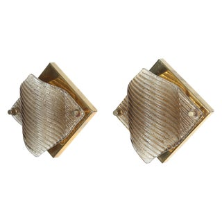 Pair of Sconces by Doria Lighting Company For Sale