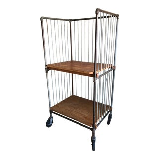 1920s Industrial Bindery Cart For Sale