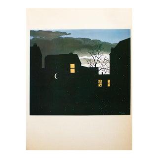 "1972 Rene Magritte, ""Good Fortune"" Original Photogravure For Sale"
