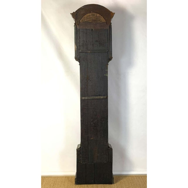 Late 18th Century George III Chinoiserie Decorated Long Case Clock For Sale - Image 5 of 13