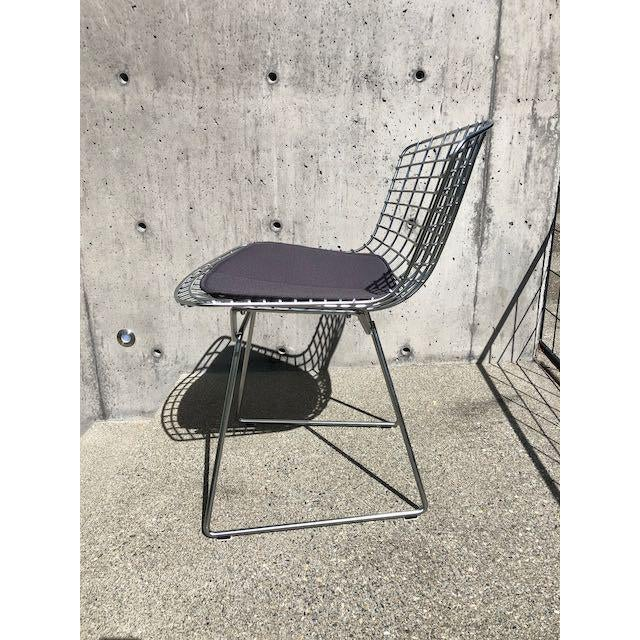 Metal Knoll Bertoia Side Chairs - Set of 10 For Sale - Image 7 of 10
