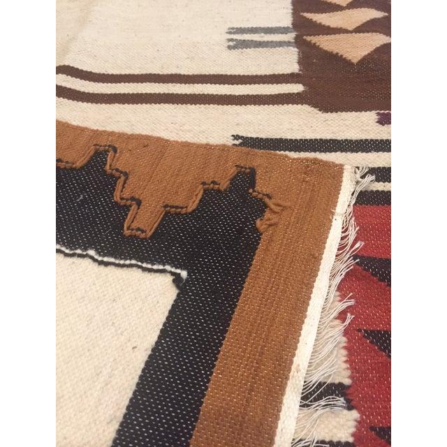 Vintage Peruvian Textile Wall Hanging Alpaca Parade - Image 11 of 11