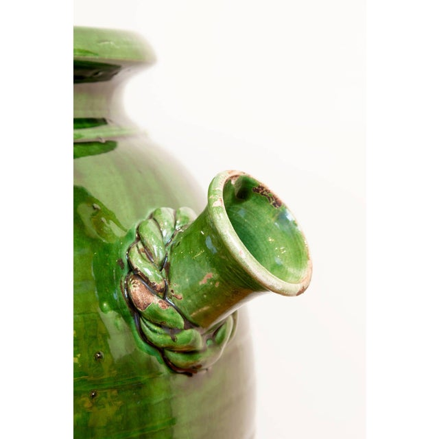 French Provençal Storage Jar, Late 19th Century For Sale - Image 4 of 6