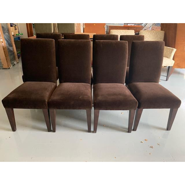 Textile Mitchell Gold Dining Chair For Sale - Image 7 of 8