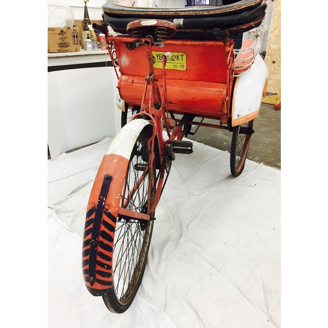 Vintage Indian Rickshaw Cart - Image 7 of 11