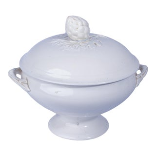 French Ironstone Lidded Tureen For Sale