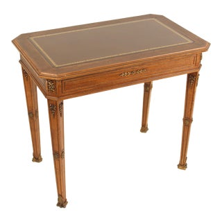 1920s Napoleon III Style Walnut Occasional Table For Sale