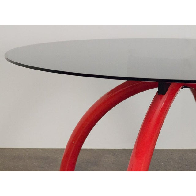 Postmodern 1980s Ettore Sottsass Red Spyder Dining Table For Sale - Image 3 of 8
