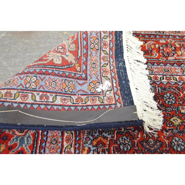 Farahan Sarook Blue Hand Knotted Persian Oriental Room Size Rug Carpet -- 9' x 11' - Image 6 of 10