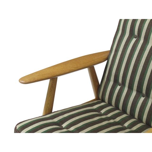 Wood Hans Wegner Cigar Lounge Chair For Sale - Image 7 of 7