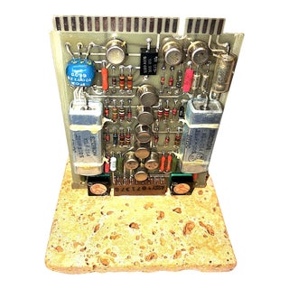 Mid-Century, Vintage Television Circuit Board Sculpture by Bill Reiter For Sale