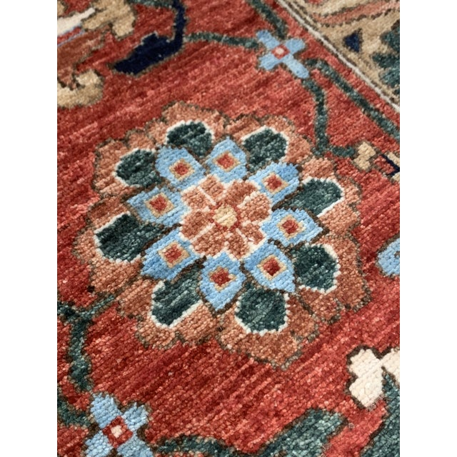 "Contemporary Hand Weaved Kazak Rug-11'8"" X 14'5"" For Sale In Atlanta - Image 6 of 12"