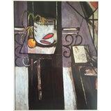 "Image of Henri Matisse Vintage 1973 Authentic Fauvist Lithograph Print "" Goldfish "" 1911 For Sale"