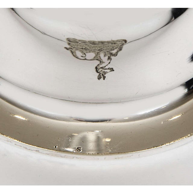 Silver Plate Wine Funnel For Sale - Image 6 of 8