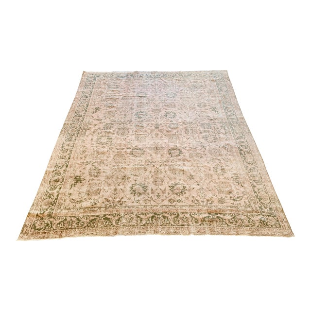 Vintage Sivas Wool Rug - 8′1″ × 11′ For Sale