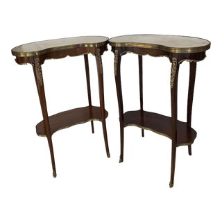 19th Century Paul Sormani Accent Tables - a Pair For Sale