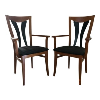 1990s Pietro Constantini Dining Chairs - A Pair For Sale