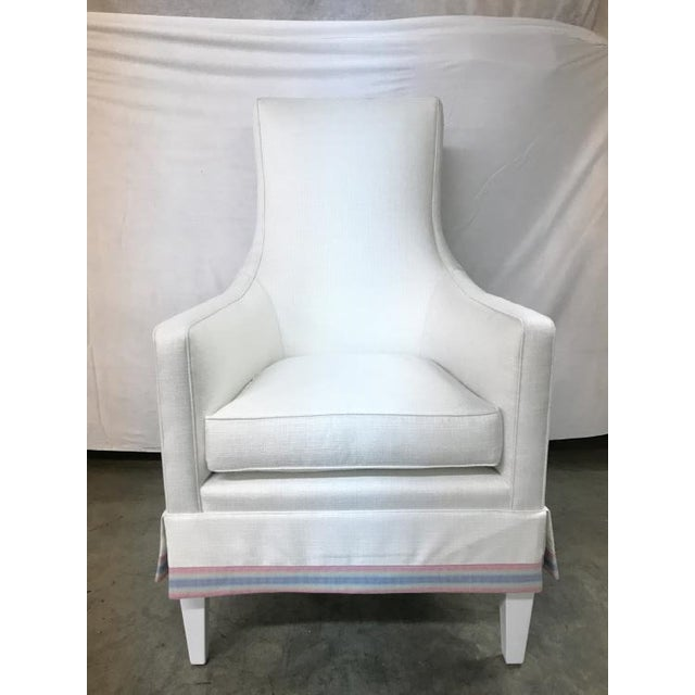 Century Furniture Century Furniture Charlottesville Wing Chair For Sale - Image 4 of 4