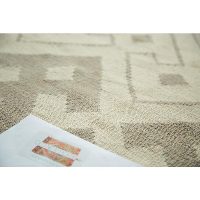 "Abstract Kilim Carpet - 6' X 7'10"" - Image 8 of 8"