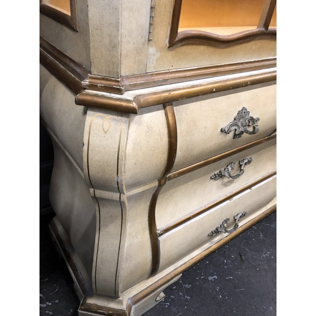 Antique Bombay China Cabinet Circa 1910 For Sale - Image 4 of 13