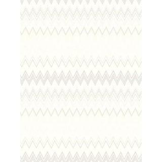 Scalamandre Zig Zags, Beige Wallpaper For Sale
