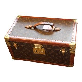 1980s Louis Vuitton Train Case For Sale