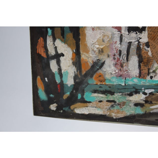 Ralph De Burgos Mixed-Media Abstract Collage For Sale - Image 11 of 12