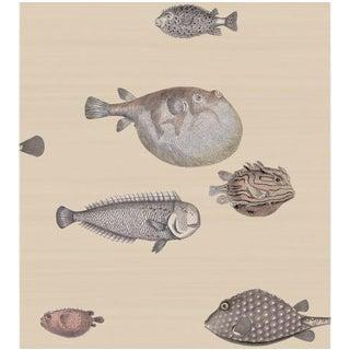 Cole & Son Acquario Wallpaper Roll - Taupe For Sale