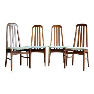 Danish Modern Dining Chairs, Set of 4
