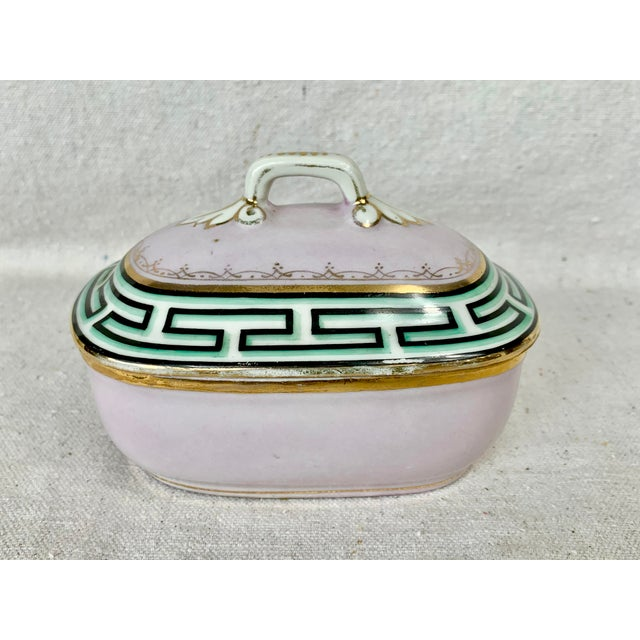 Antique Small Greek Key Vanity Box For Sale - Image 11 of 11
