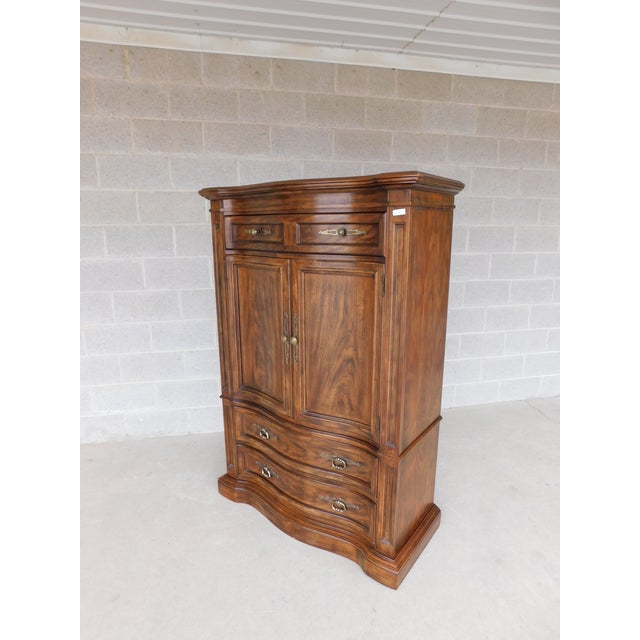 Drexel Heritage Grand Villa Tall Chest Armoire Cabinet For Sale In Philadelphia - Image 6 of 6