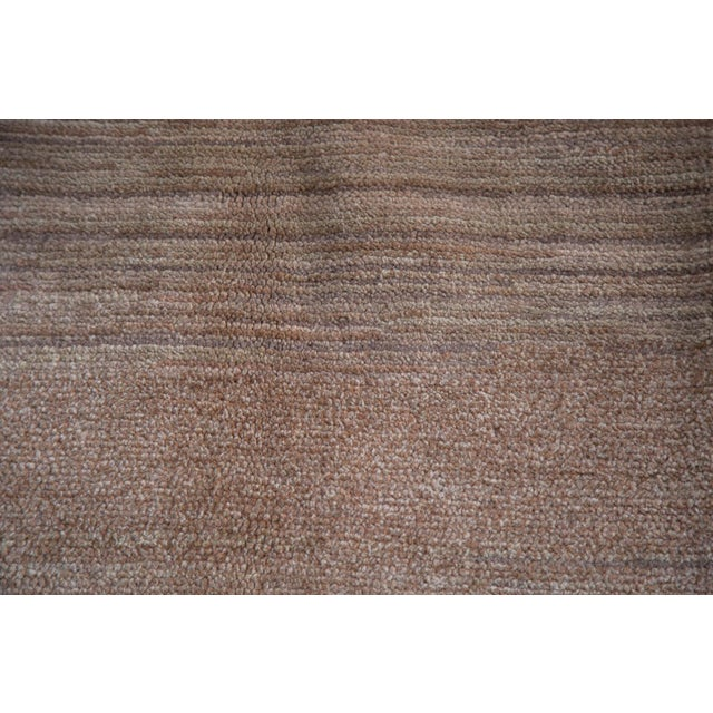 """1960s Distressed Oushak Carpet - 7' X 9'1"""" For Sale - Image 5 of 11"""