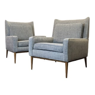 Restored Paul McCobb Directional Model 1312 Lounge Chairs- A Pair For Sale
