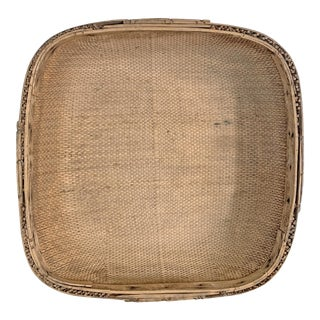 Early 20th Century Chinese Winnowing Basket For Sale