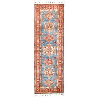 """Pasargad N Y Genuine Super Kazak Lamb's Wool Rug - 2' X 6'1"""""""