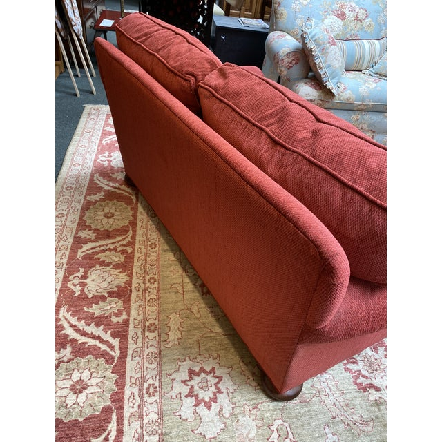 2010s Lee Industries Apartment Sofa For Sale - Image 5 of 10