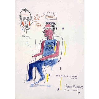 Basquiat Keith Haring Poster For Sale