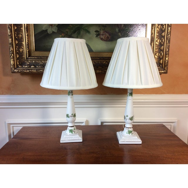 Vintage Ceramic Lamps - A Pair - Image 2 of 6