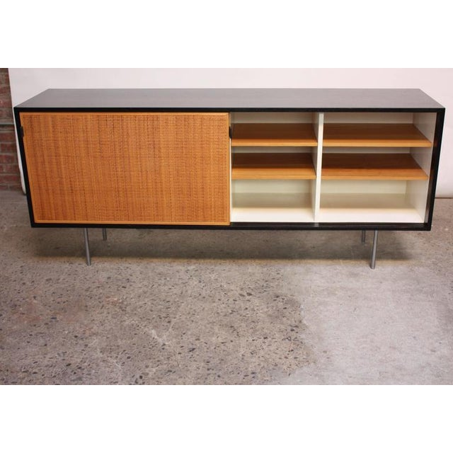 Early Florence Knoll Ebonized Credenza - Image 5 of 10
